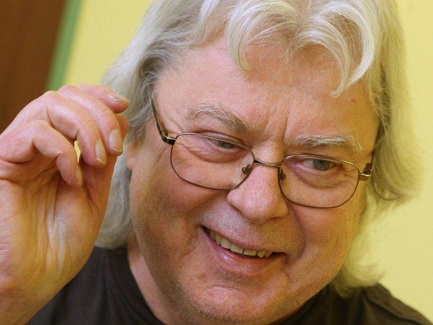 Hudebník Vladimír Mišík.