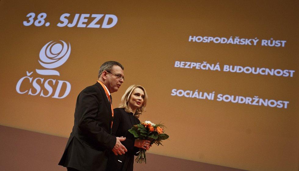 Lubomír Zaorálek a Lenka Teska Arnoštová