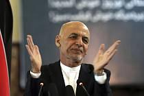 Afghánský prezident Ašraf Ghaní na snímku z 21. března 2021