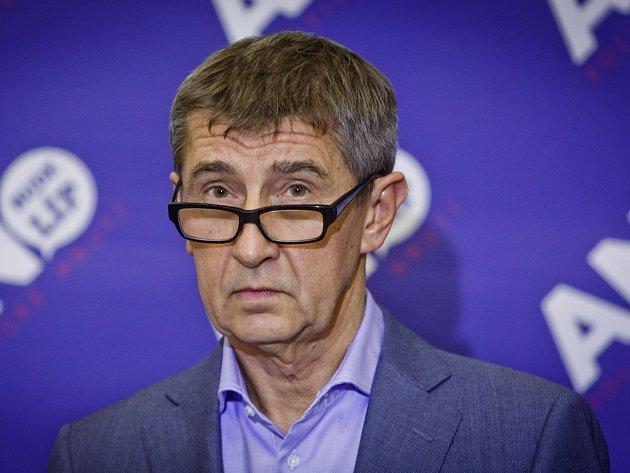 Zakladatel, majitel a šéf hnutí ANO Andrej Babiš.