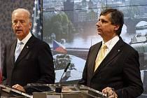 Viceprezident USA Joseph R. Biden v Praze