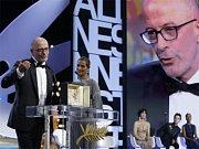 Americký filmový režisér Woody Allen.