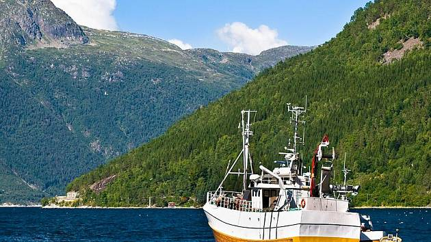 Norsko.Ilustrační foto