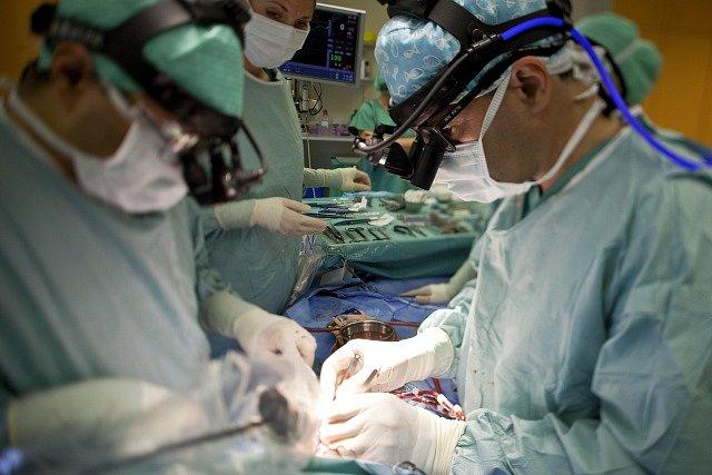 Nemocniční sál. Ilustrační foto.