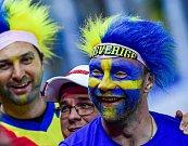 Švédský fanoušek