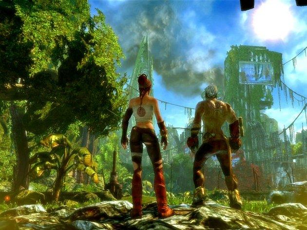 Počítačová hra Enslaved.