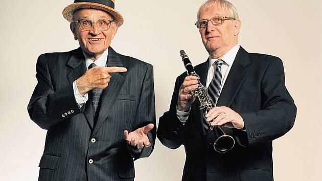 Skladatel Ferdinand Havlík a textař Jiří Suchý spolu napsali stovky písniček, které si přiznivci pražského divadla Semafor dodnes rádi zpívají.