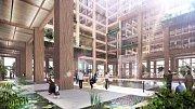 Nejvyšší dřevěný mrakodrap na světě bude měřit 350 metrů. Z přírodního materiálu bude celý interiér.