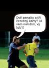 Hráči Doks neunesli porážku a po utkání s Novým Knínem inzultovali rozhodčího. Tento i další příběhy sportovních raubířů naleznete už 17. září ve Sportovním deníku.