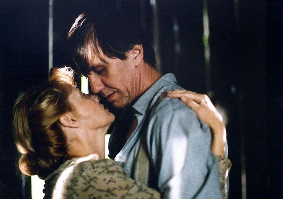 Se Zdenou Studenkovou ve filmu Milenec Lady Chatterleyové