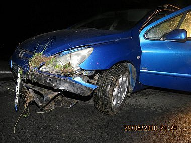 Dopravní nehoda - Ilustrační foto