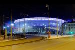 Centrální stadion (Jekatěrinburg, 35 000 diváků). Jediný stadion v asijské části Ruska a zároveň po Lužnikách nejstarší. Unikátem je provizorní tribuna postavená na obřím lešení, která byla smontována, aby stadion splnil požadavky na minimální kapacitu.