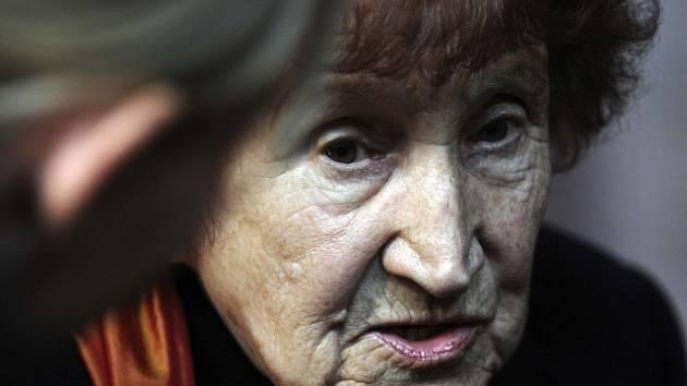 Spisovatelka Bohumila Grögerová.