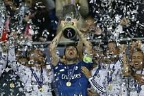 Superpohár: Real vs. Sevilla - Madridský klub slaví