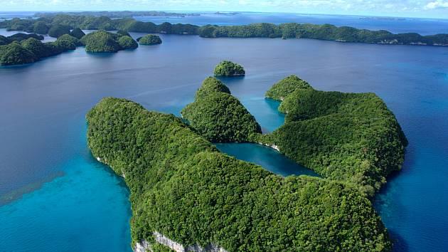Jeden z ostrovů tichomořského státu Palau