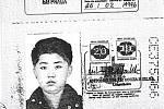 Pas současného vůdce KLDR Kim Čong-una