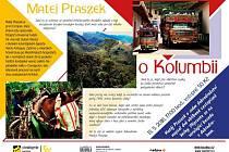 Přednáška - Matěj Ptaszek o Kolumbii