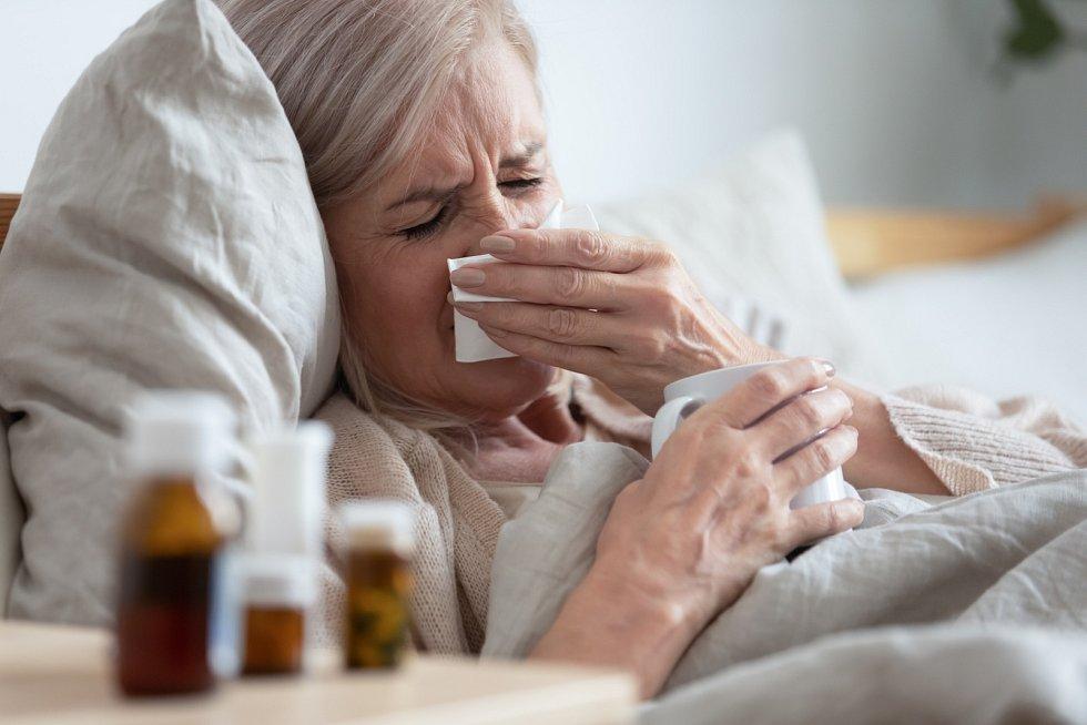 Ačkoliv rýma není považovaná za nemoc, nachlazením oslabené tělo potřebuje posilu