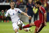 Slováci se musí vzpamatovat z porážky ve Španělsku