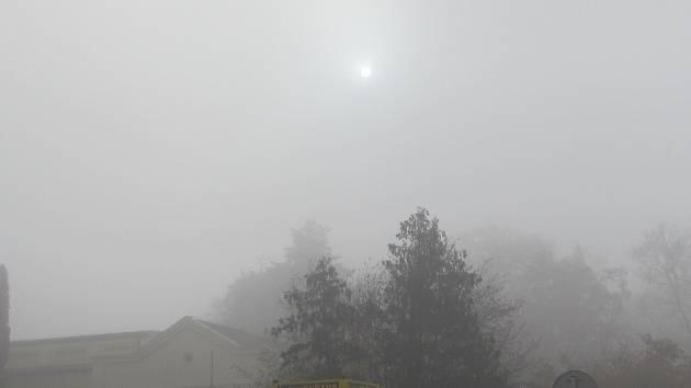 Znečištěné ovzduší. Ilustrační foto.