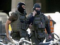 Na nádraží v Kolíně nad Rýnem zasahovala policie.