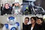 Videosouhrn Deníku – středa 24. ledna 2018