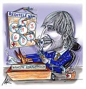 Kresba Milana Kounovského