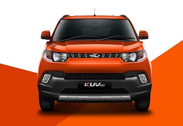 Mahindra KUV100.