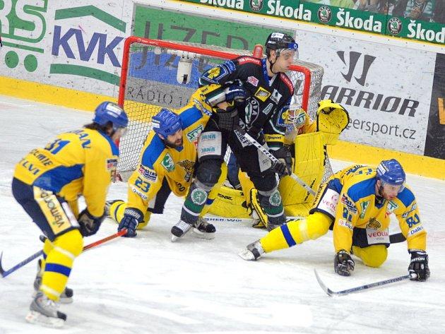 Mladá Boleslav zvládla první zápas baráže s Ústím 3:0.