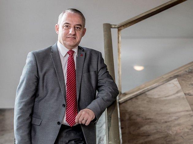 odborový předák Josef Středula