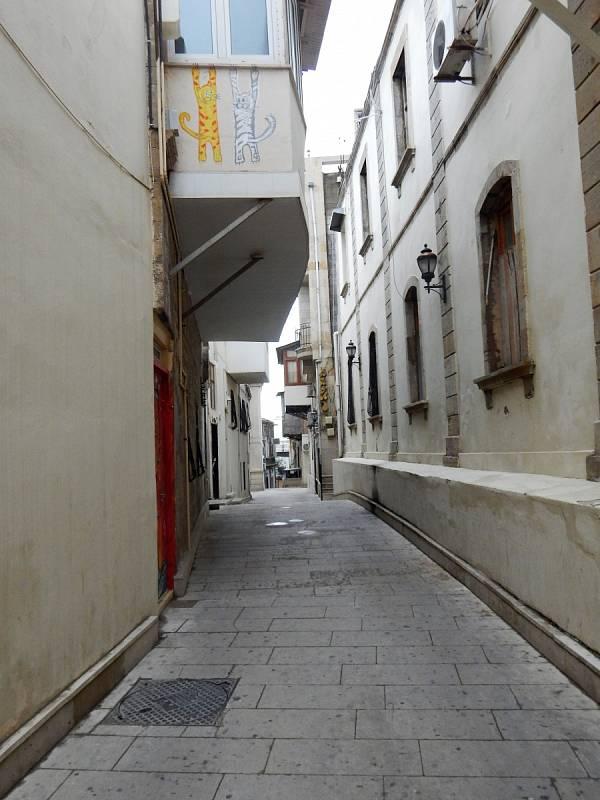 Jedna z uliček v historickém centru.