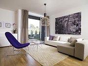 Projekt Cikánka - Interiér vzorového domu. Ilustrační foto