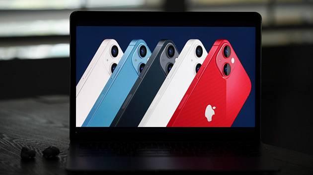 Nové chytré telefony iPhone 13