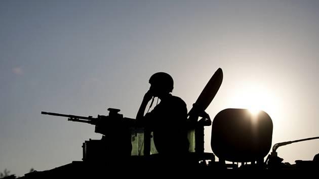 Voják, hlídka - ilustrační foto