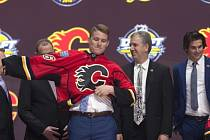 Matthew Tkachuk byl v NHL draftován Calgary.
