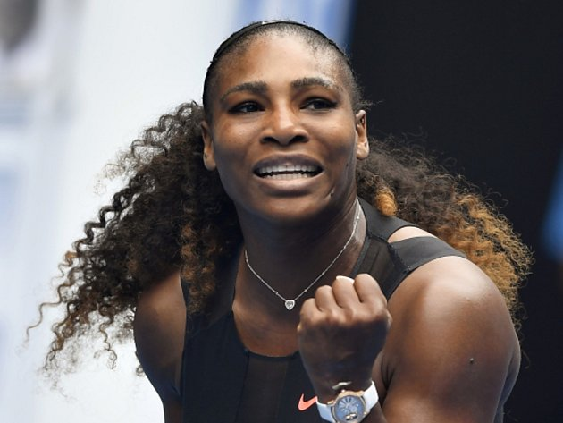 Serena Williamsová na Australian Open.