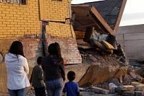 Chile zasáhlo další velmi silné zemětřesení.