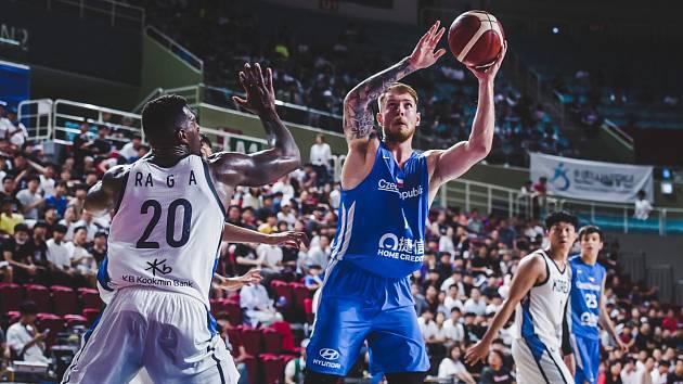 Příprava před MS v basketbalu, ČR - Korea
