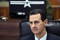 Syrský prezident Bašár Asad na snímku ze 7. ledna 2020