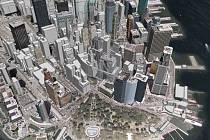 Proti podrobné mapě Manhattanu na serveru Google Earth Pentagon výhrady nemá.