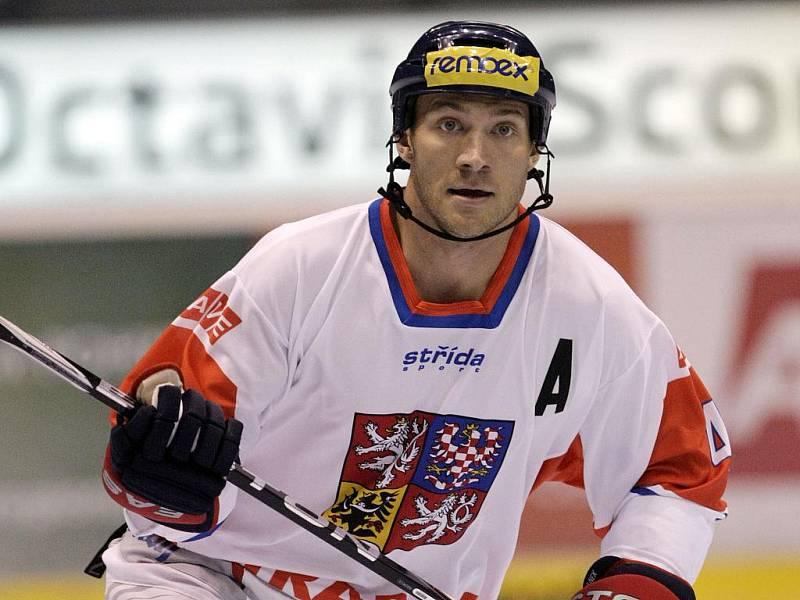 Karel Rachůnek na MS v in-line hokeji.