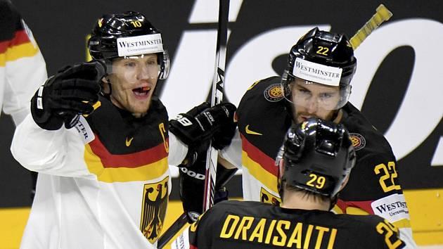 Němečtí hokejisté - Ilustrační foto