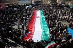 Provládní pochod v Teheránu