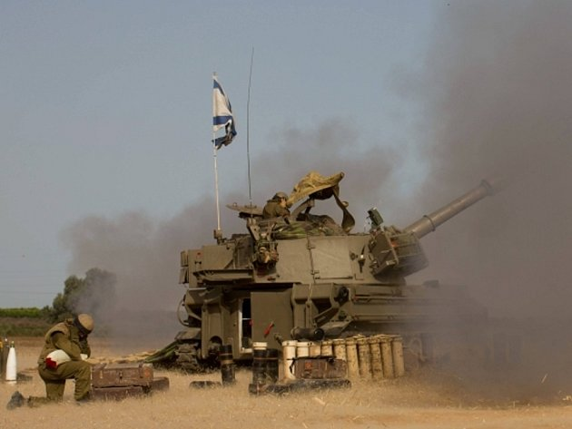 Boje u hranic s Gazou. Ilustrační foto.
