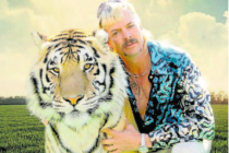 Kdo je nebezpěčnější? Joe Exotic se svým tygrem.