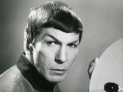 Leonard Nimoy jako Spock v roce 1967.
