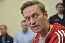 Ruský opoziční předák Alexej Navalnyj na snímku z 13. června 2018