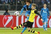 Petrohrad - Dortmund: Marco Reus v akci