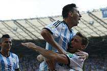 Argentina - Írán: Lionel Messi rozhodl zápas