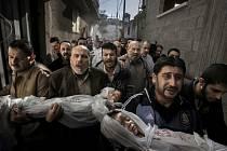 Hlavní cenu letošního ročníkui World Press Photo obdržel švédský fotograf Paul Hansen z listu Dagens Nyheter za snímek z pohřbu dvou palestinských dětí zabitých při izraelském raketovém útoku v Gaze.